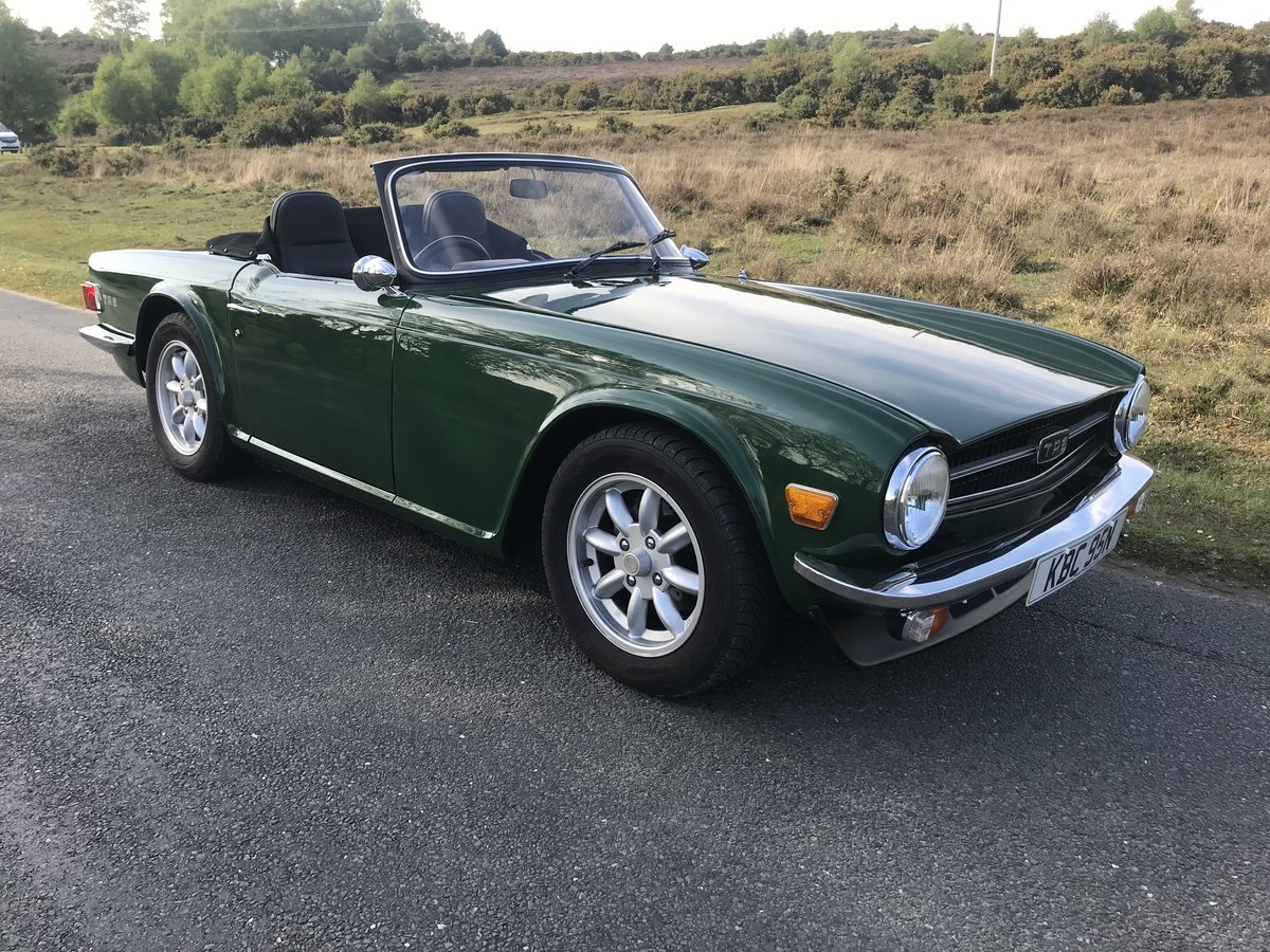 Triumph TR6 1974 Superb Car For Sale (picture 1 of 6)