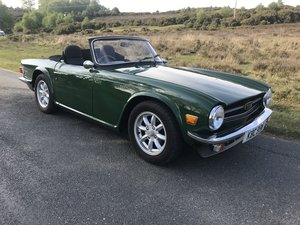 Triumph TR6 1974 Superb Car For Sale