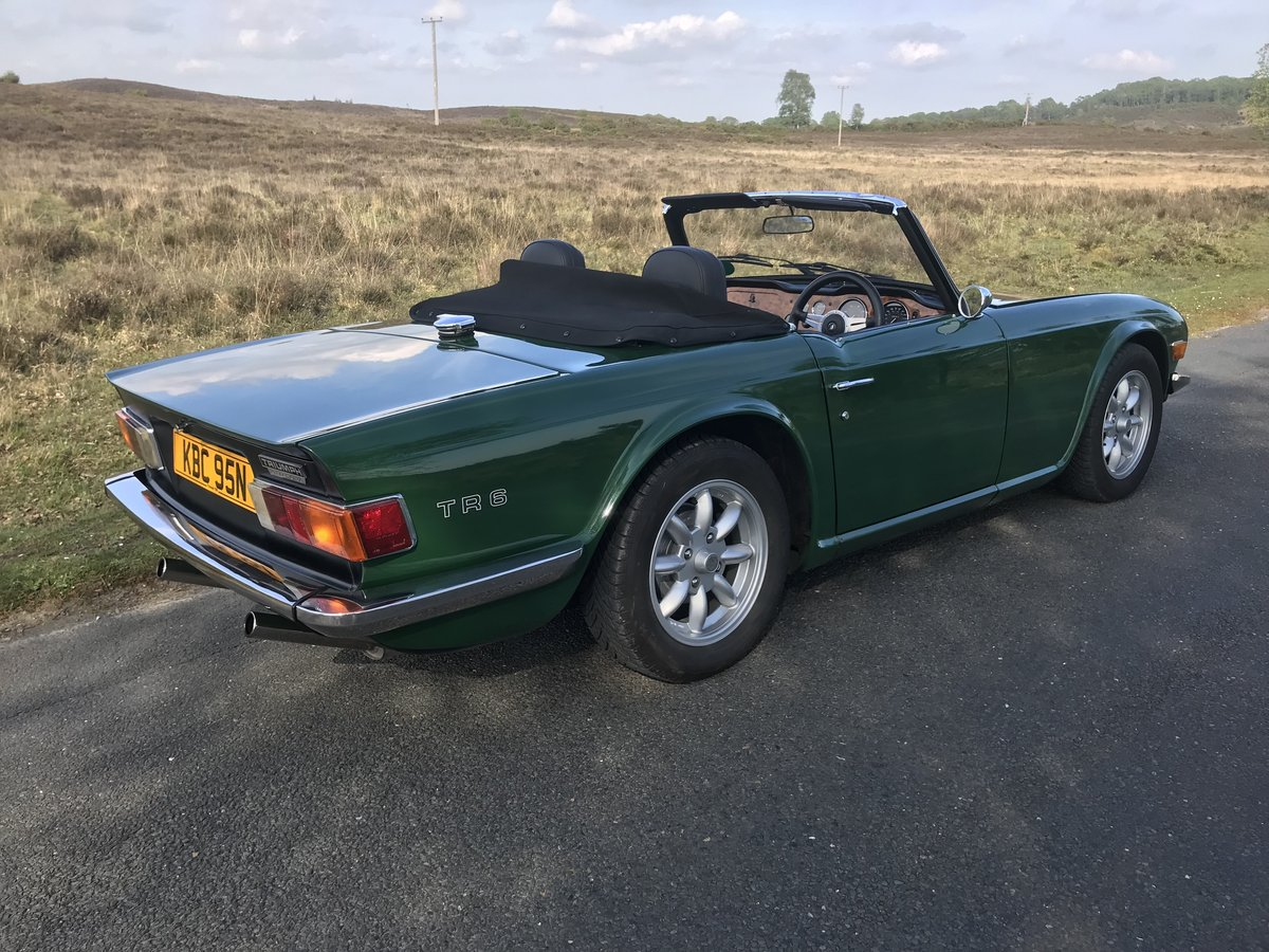 Triumph TR6 1974 Superb Car For Sale (picture 6 of 6)