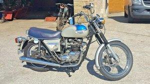 1977 Triumph Silver Jubilee Bonneville. For Sale