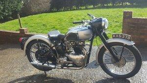 1949 triumph Tiger 100. 500cc twin. V5C. Matching nos