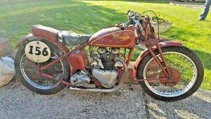 1939 Triumph 5T Speedtwin racer. V5C For Sale