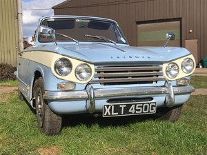 Vitesse Convertible Mk2 (1968) overdrive SOLD
