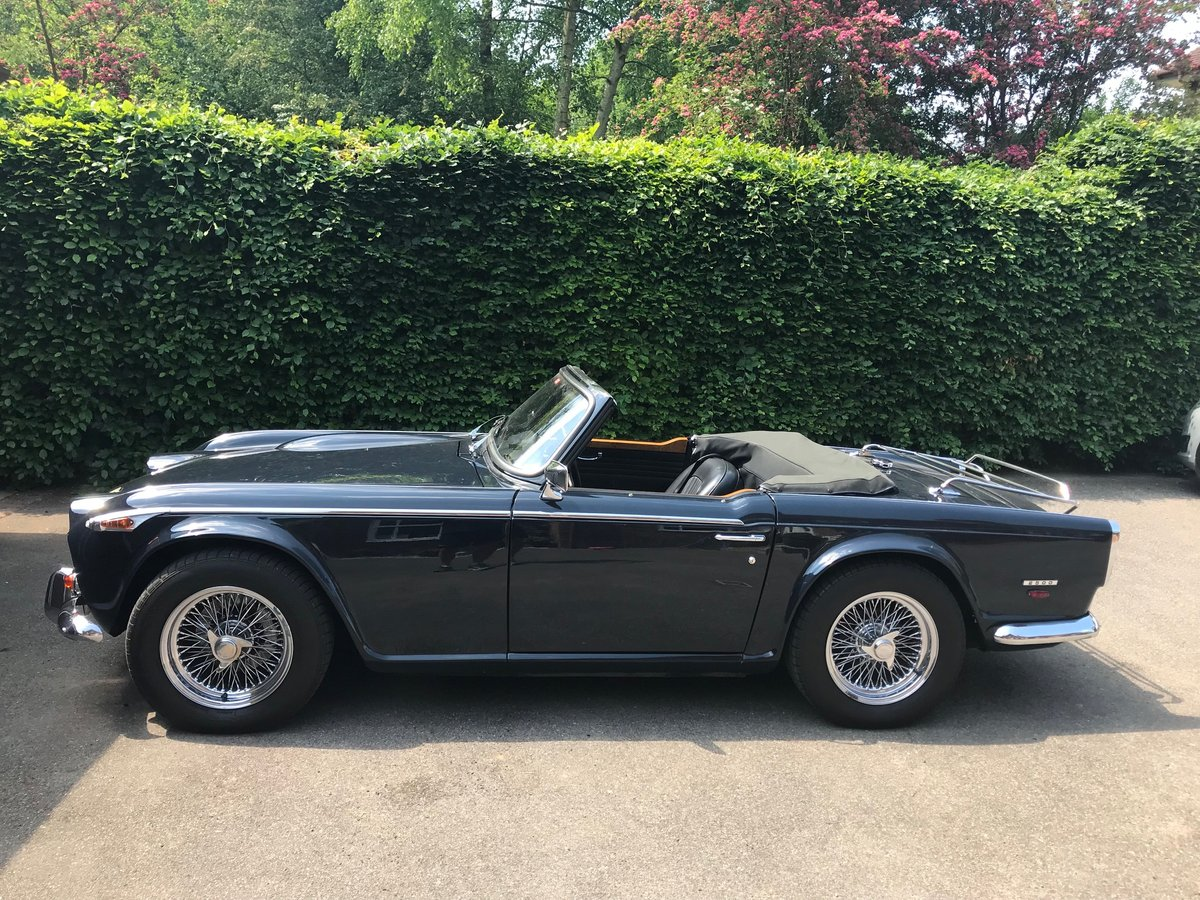 Triumph TR5 PI 1968 UK Car For Sale For Sale (picture 1 of 6)