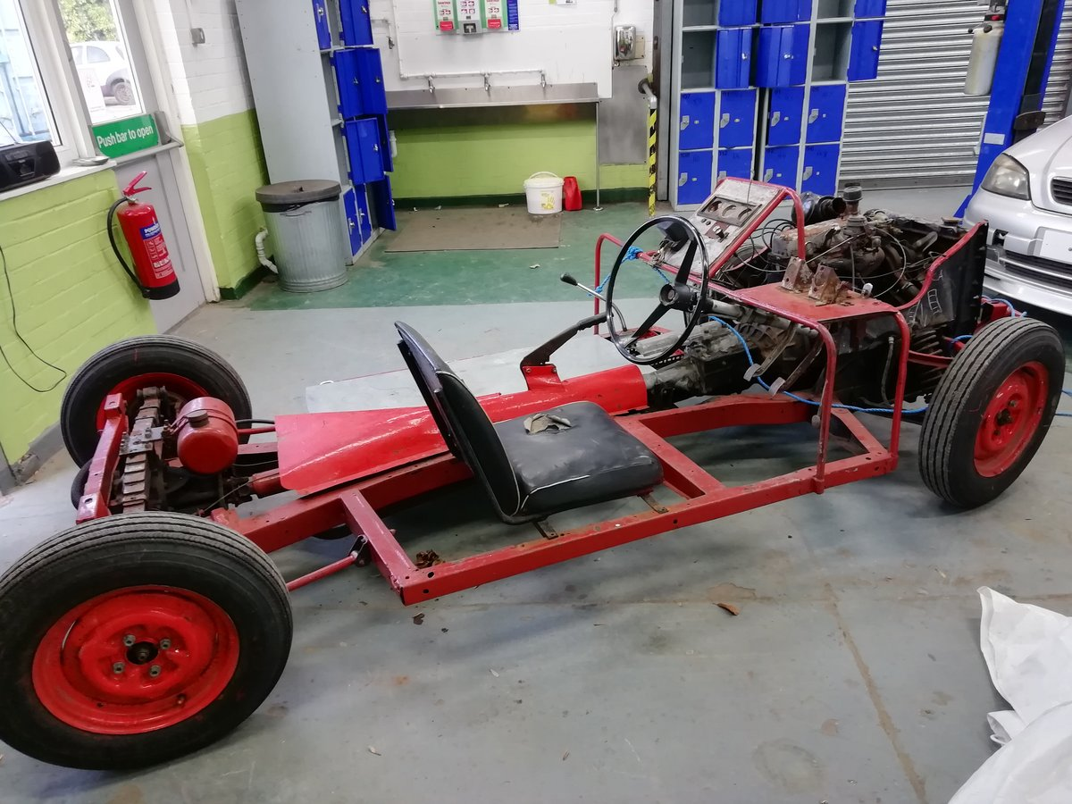 1960 Rare Triumph Herald display chassis. SOLD (picture 1 of 6)