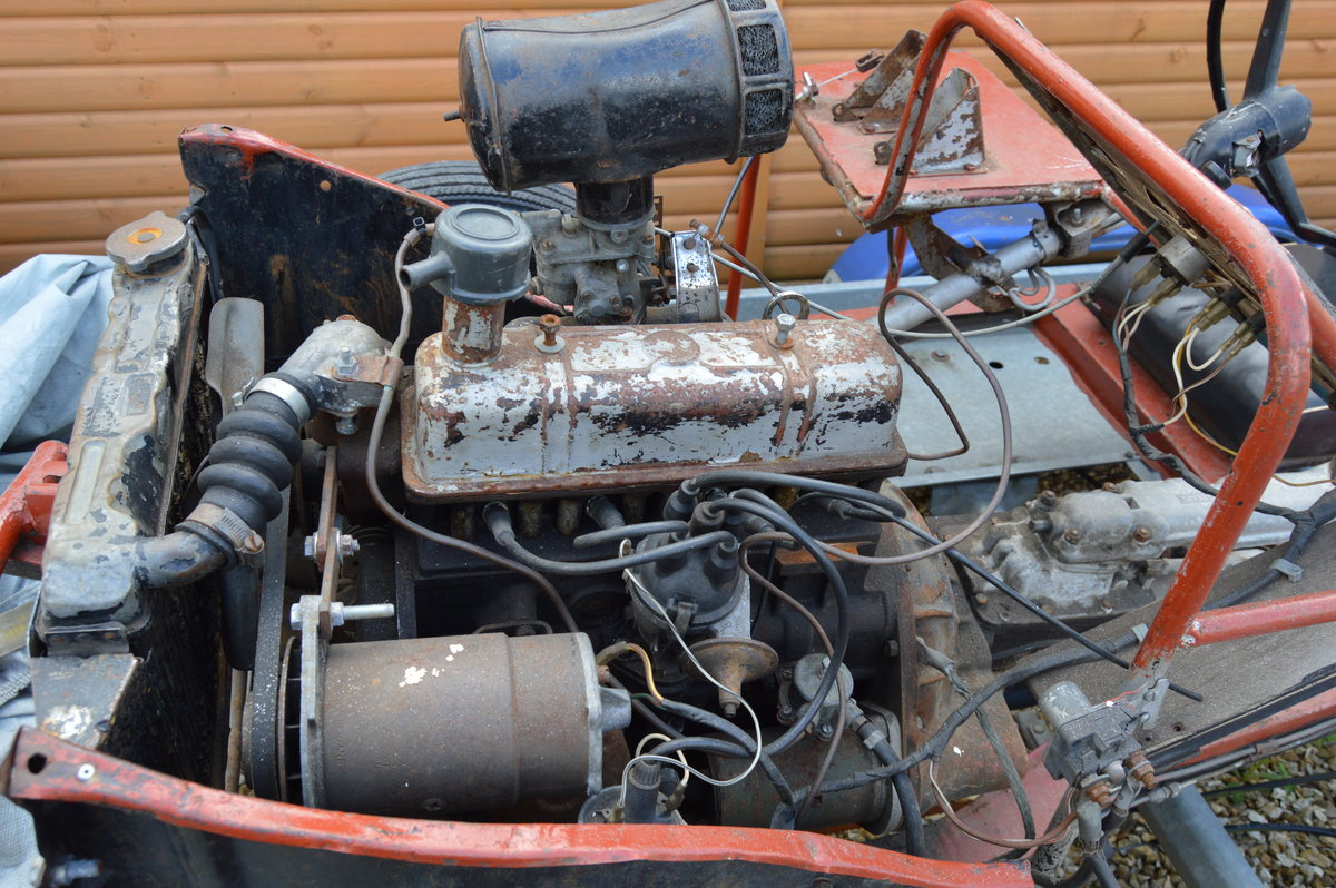 1960 Rare Triumph Herald display chassis. SOLD (picture 4 of 6)