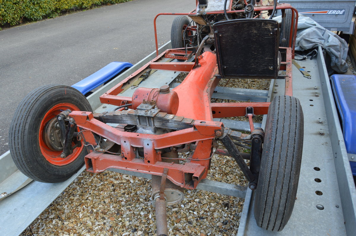 1960 Rare Triumph Herald display chassis. SOLD (picture 5 of 6)