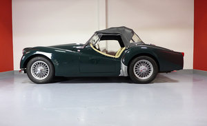 1956 Triumph TR2 British Racing Green For Sale