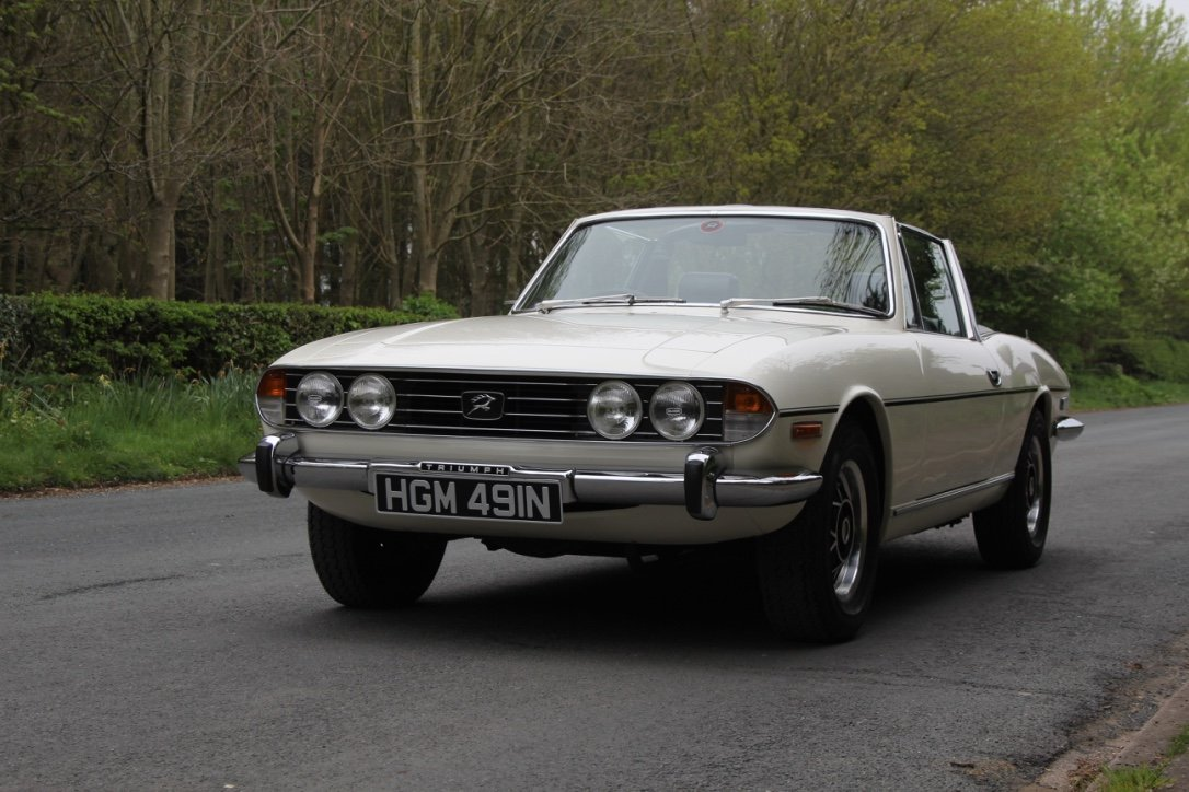 1975 Triumph Stag Automatic - Superb Condition SOLD (picture 3 of 12)