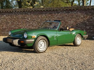 1979 Triumph Spitfire 1500 only 3.966 miles, factory new conditio For Sale