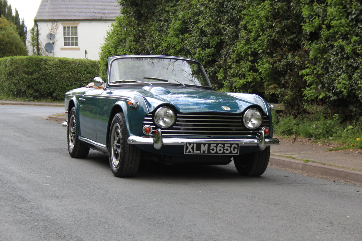 1968 Triumph TR5 PI - UK Car, Superb History For Sale (picture 1 of 12)