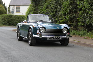 1968 Triumph TR5 PI - UK Car, Superb History