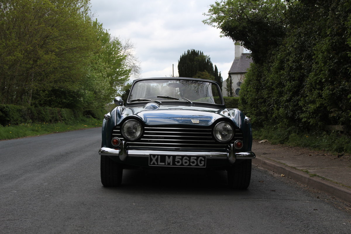 1968 Triumph TR5 PI - UK Car, Superb History For Sale (picture 2 of 12)