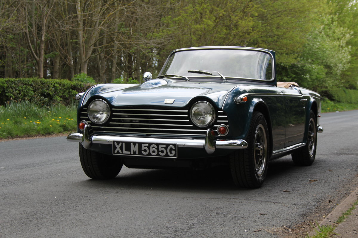 1968 Triumph TR5 PI - UK Car, Superb History For Sale (picture 3 of 12)