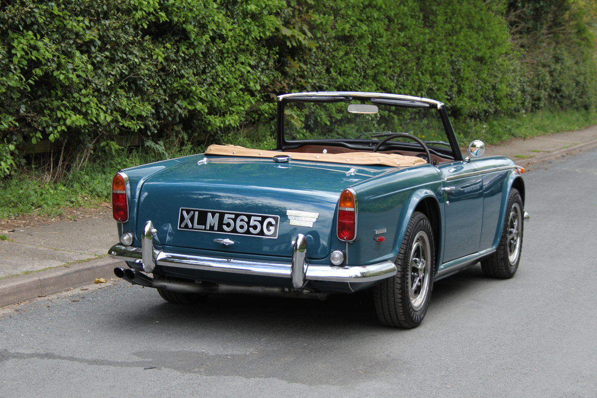 1968 Triumph TR5 PI - UK Car, Superb History For Sale (picture 4 of 12)