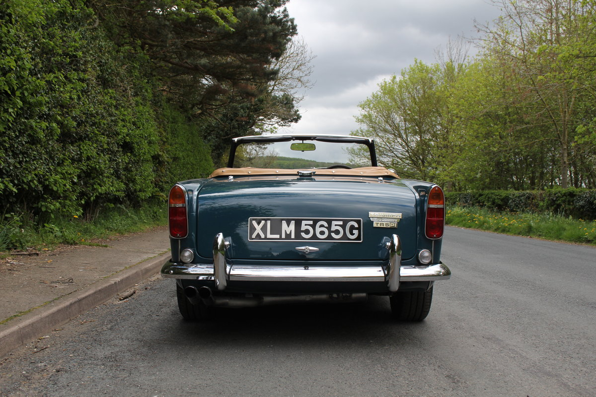 1968 Triumph TR5 PI - UK Car, Superb History For Sale (picture 5 of 12)