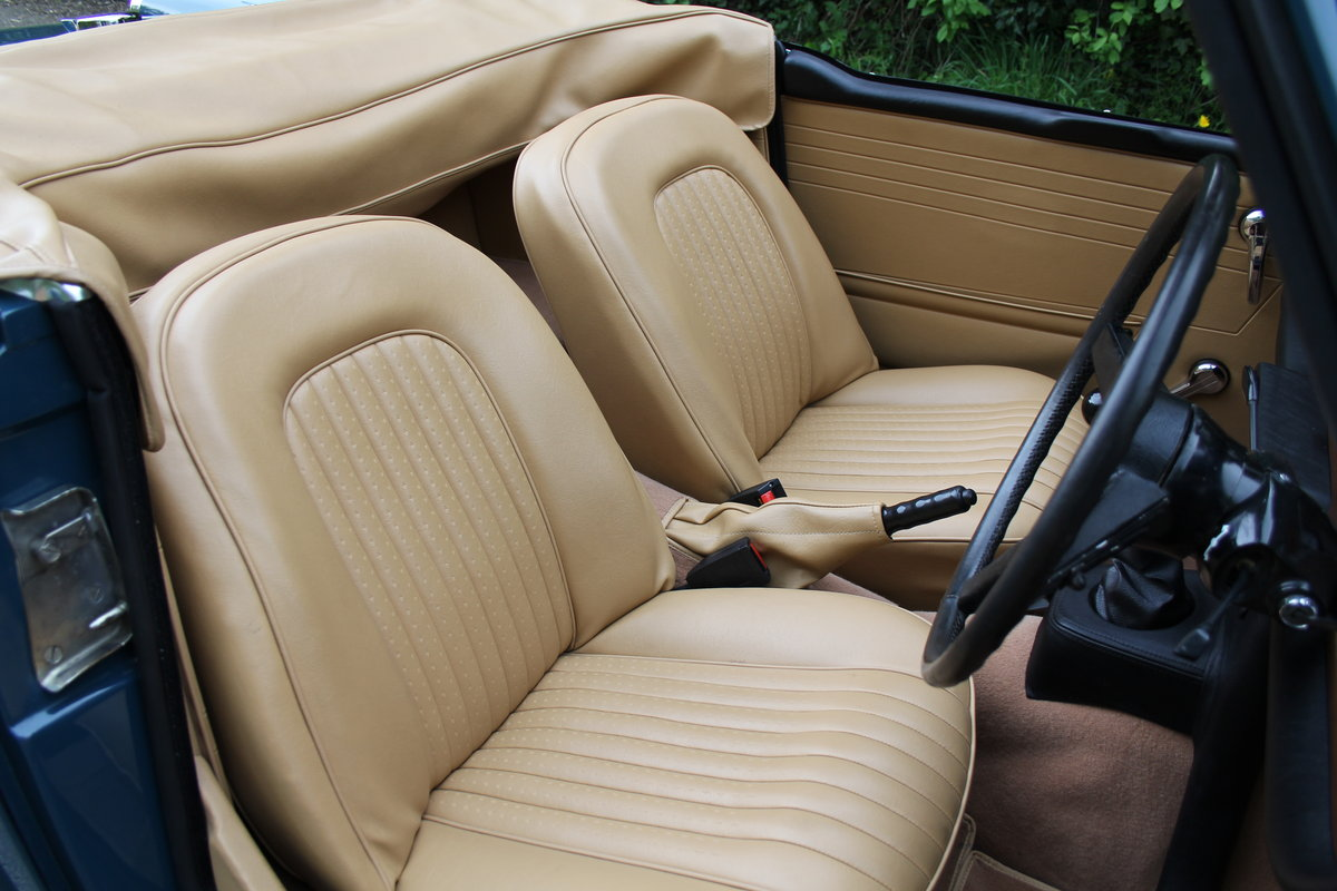 1968 Triumph TR5 PI - UK Car, Superb History For Sale (picture 8 of 12)
