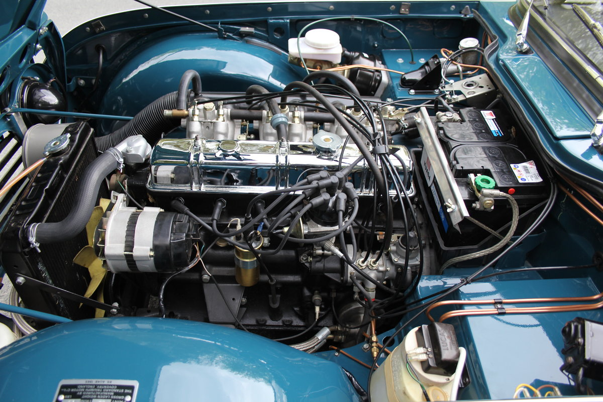 1968 Triumph TR5 PI - UK Car, Superb History For Sale (picture 11 of 12)