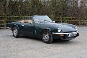 1979 Lovely Spitfire for easy restoration For Sale