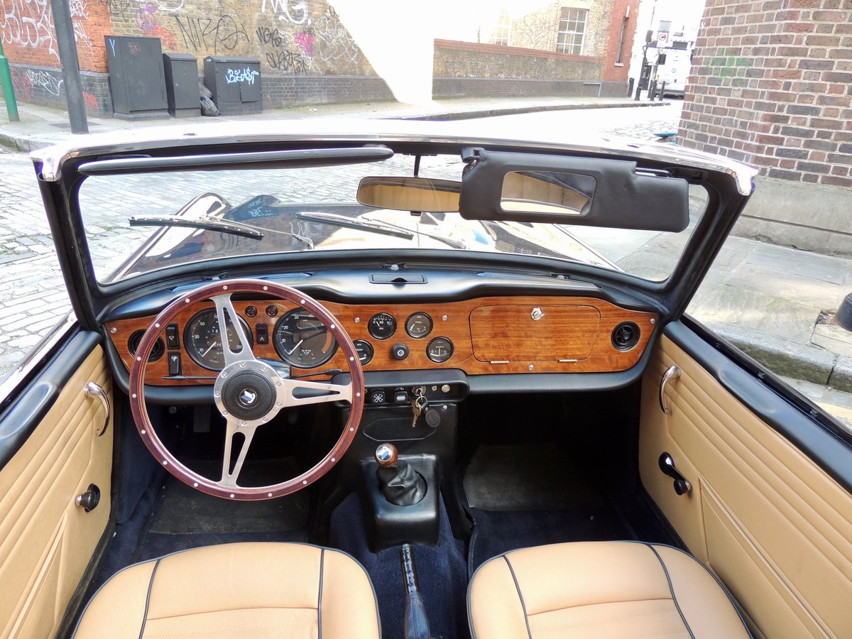 Immaculate Condition 1968 Triumph TR250 For Sale (picture 3 of 6)