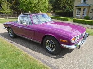 1973 Triumph Stag Mk2, Auto.  For Sale