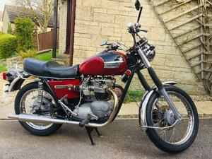 1973 Triumph Bonneville 750cc