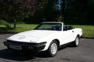 1980 TR7 CONVERTIBLE IN TIME WARP CONDITION For Sale