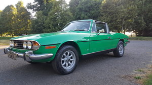 1974 Triumph Stag 3 OWN/MATCHING NOS SERVICE  HISTORY For Sale