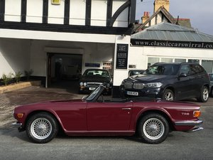 1972 Triumph TR6 2.5 Pi 150 BHP UK CAR For Sale