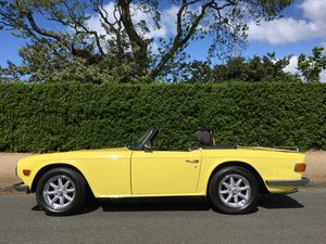 1970 Triumph TR6 2.5 Pi Overdrive - Fast Road Spec For Sale