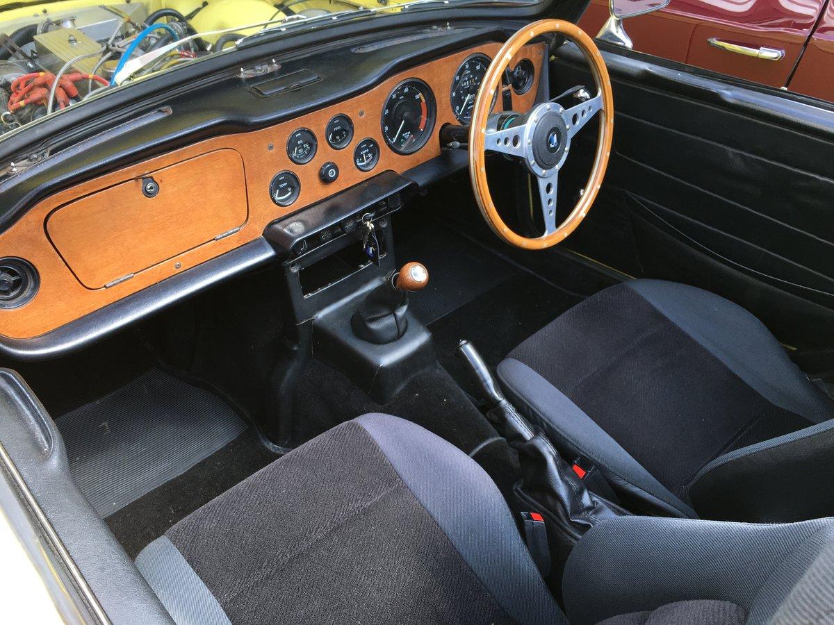 1970 Triumph TR6 2.5 Pi Overdrive - Fast Road Spec For Sale (picture 4 of 6)