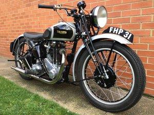 1943 Triumph 3HW / Tiger80 350cc For Sale