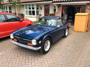 1973 Triumph tr6 one owner from new, rot free LHD For Sale