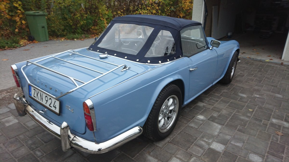 1964 Show winning TR4 restored & in superb condition! SOLD (picture 2 of 6)