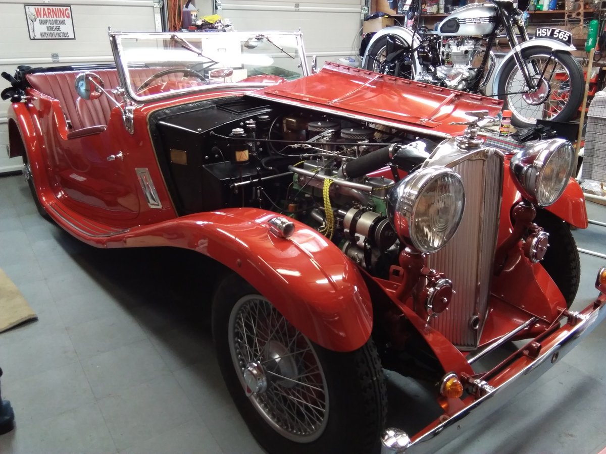 1934 Triumph Gloria Super Six For Sale (picture 3 of 6)