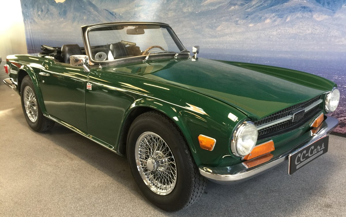 1969 Triumph Tr 6 For Sale Car And Classic