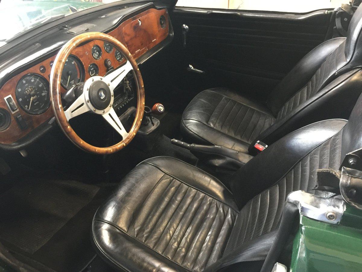 1969 Triumph TR 6  SOLD (picture 5 of 6)