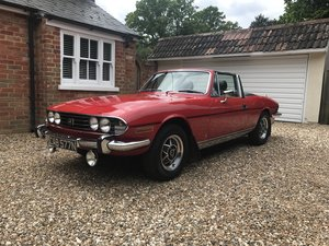 DEPOSIT TAKEN 1974 Triumph Stag, Manual, V8 SOLD