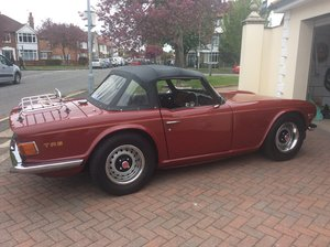 1972 Triumph Tr6 uk car cp the one to have For Sale