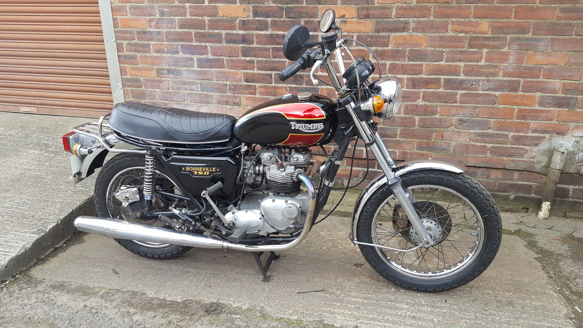 1980 Triumph T140 Bonneville - UK bike SOLD (picture 1 of 6)