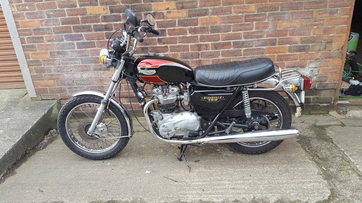 1980 Triumph T140 Bonneville - UK bike SOLD (picture 3 of 6)
