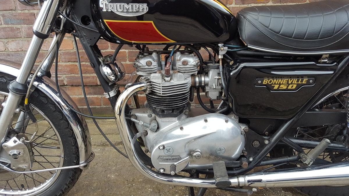 1980 Triumph T140 Bonneville - UK bike SOLD (picture 5 of 6)
