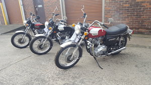 1978 3 classic Triumph 750s for sale SOLD