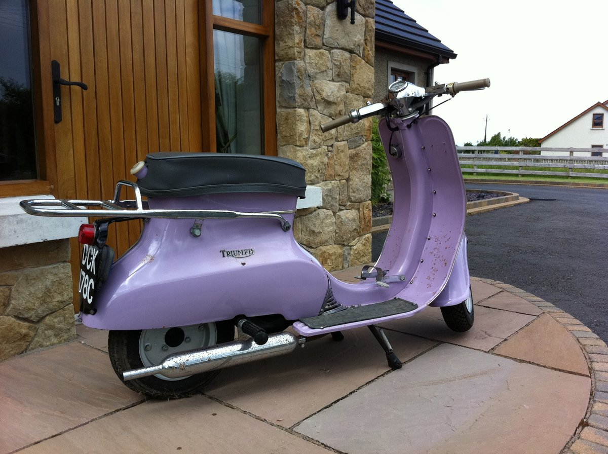 1966 Triumph Tina Scooter For Sale (picture 1 of 6)