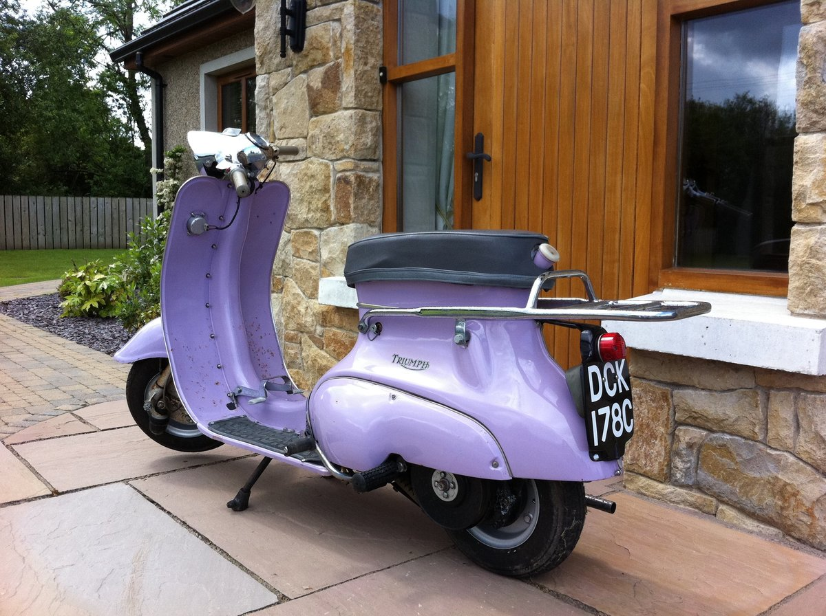 1966 Triumph Tina Scooter For Sale (picture 5 of 6)