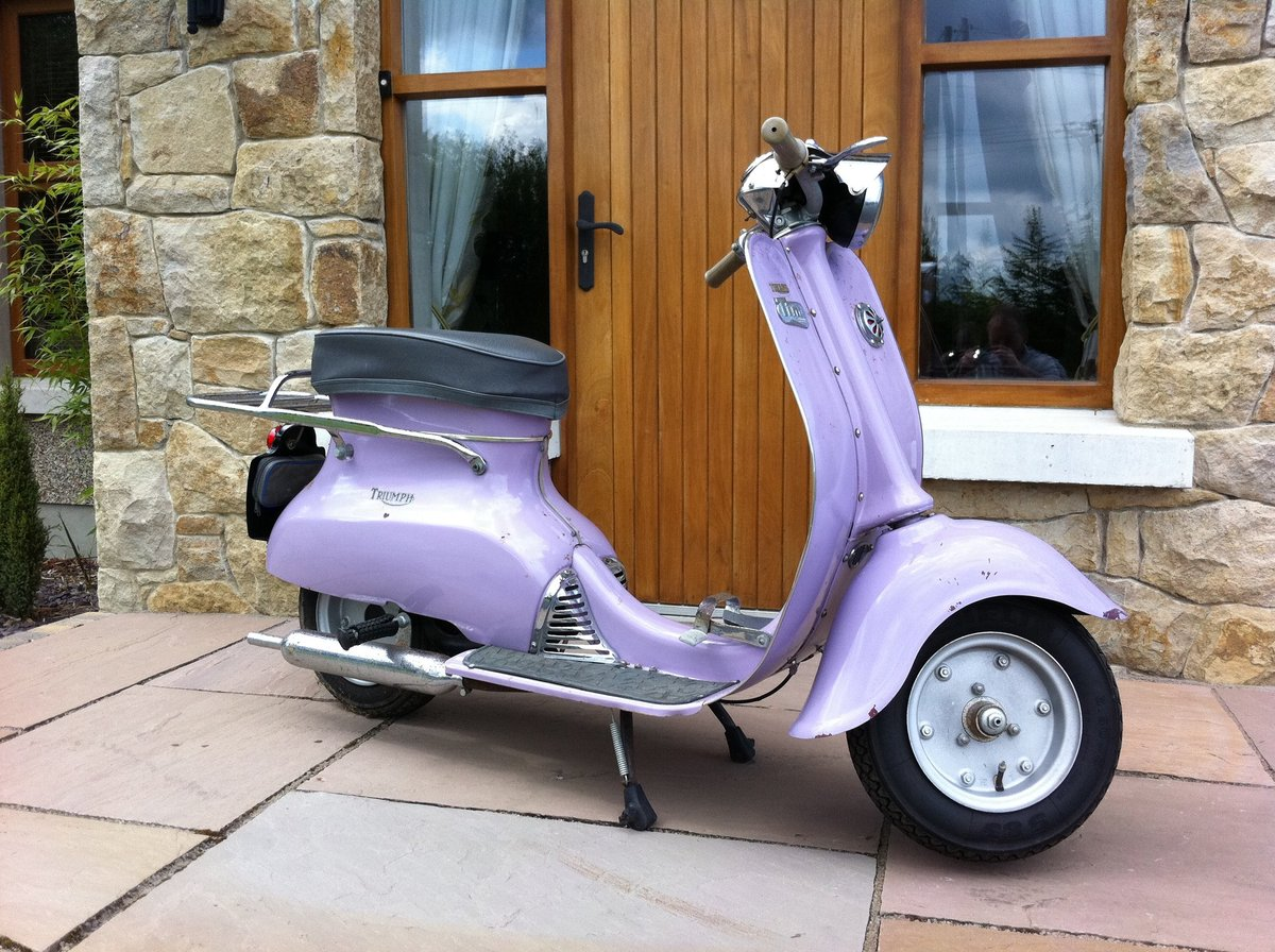 1966 Triumph Tina Scooter For Sale (picture 6 of 6)