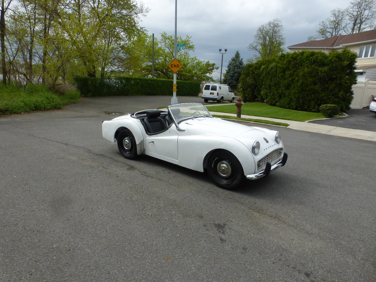 1959 Triumph TR3A Texas Car Partially Restored - For Sale (picture 1 of 6)