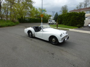 1959 Triumph TR3A Texas Car Partially Restored -