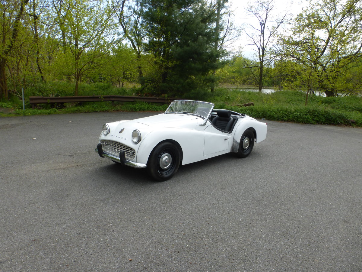 1959 Triumph TR3A Texas Car Partially Restored - For Sale (picture 3 of 6)