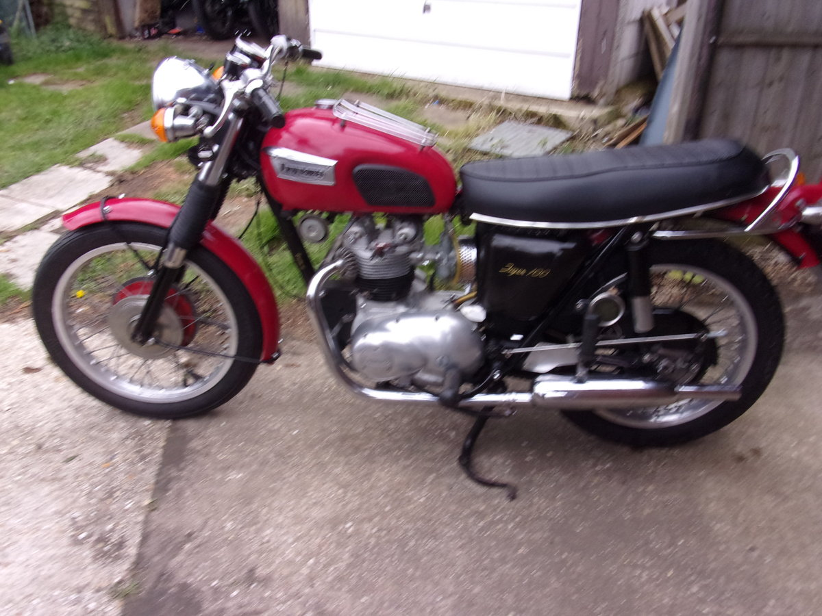1971 TRIUMPH T100 SOLD (picture 1 of 6)